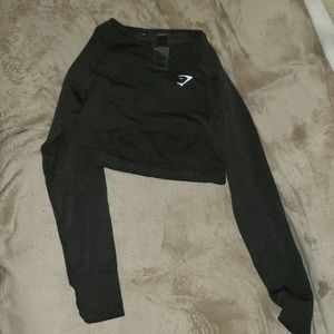 Gymshark seamless crop long sleeve NEVER WORN